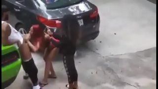 Parkeerplaats sex, stiekem gefilmd
