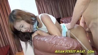 Anale sex voor goedkope straathoer